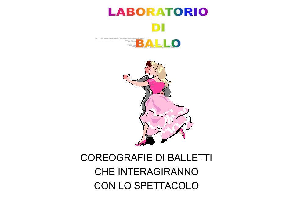 COREOGRAFIE DI BALLETTI