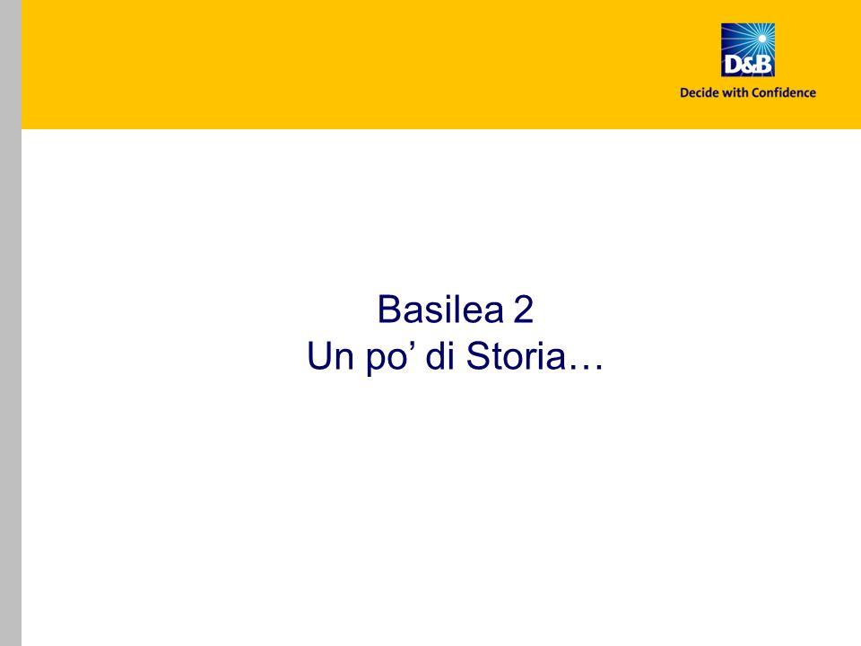 Basilea 2 Un po' di Storia…
