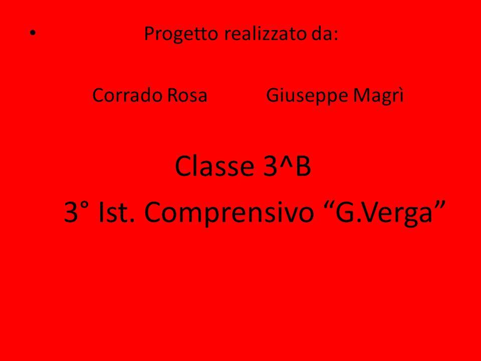 3° Ist. Comprensivo G.Verga