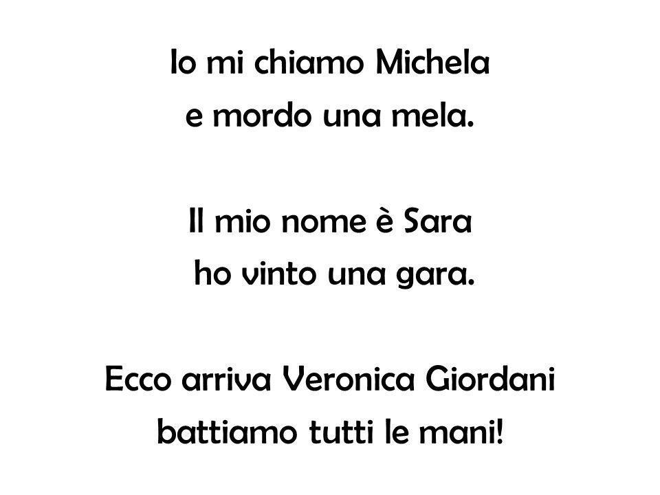 Ecco arriva Veronica Giordani