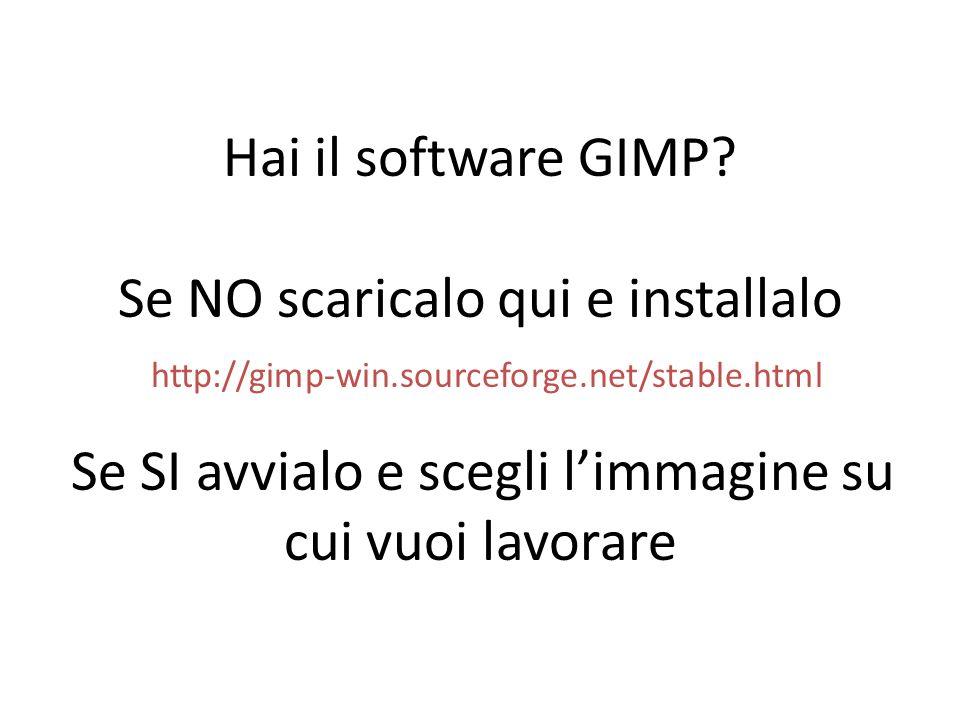 Hai il software GIMP. Se NO scaricalo qui e installalo http://gimp-win