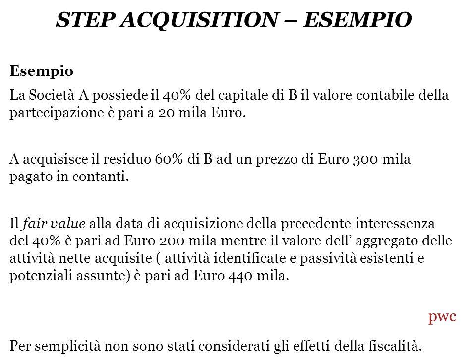 STEP ACQUISITION – ESEMPIO