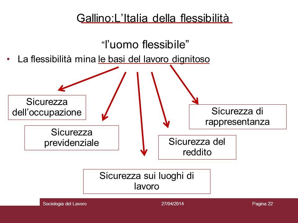 Gallino:L'Italia della flessibilità