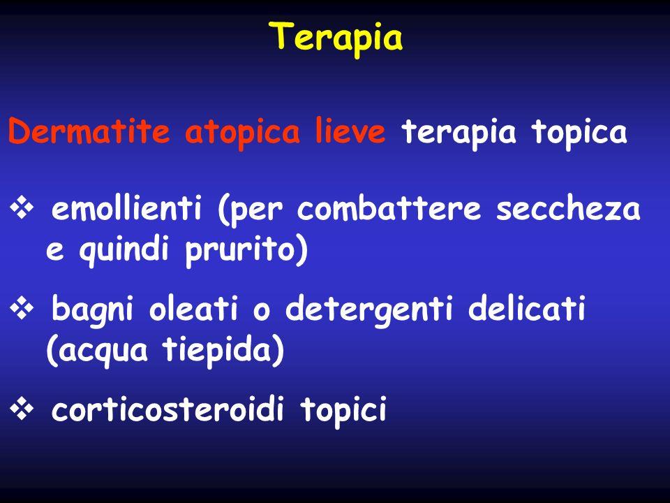 Terapia Dermatite atopica lieve terapia topica