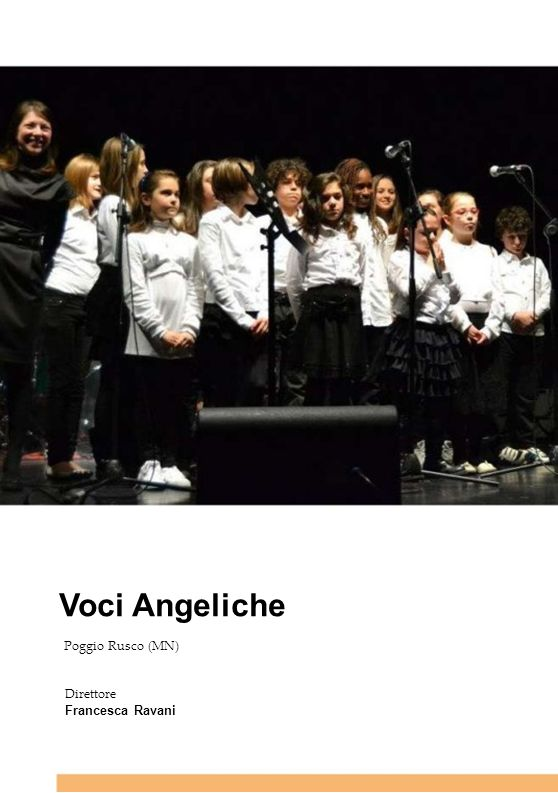 Voci Angeliche 13 13 13 13 13 Poggio Rusco (MN) Direttore