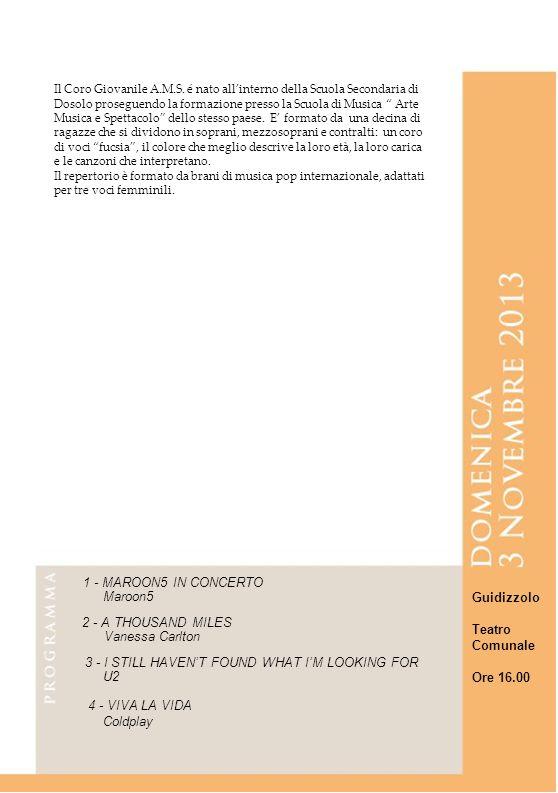 8 8 8 8 8 1 - MAROON5 IN CONCERTO Maroon5 Guidizzolo Teatro