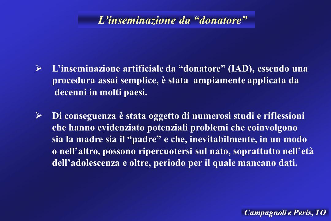 L'inseminazione da donatore