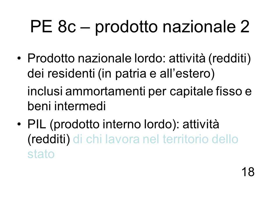 PE 8c – prodotto nazionale 2