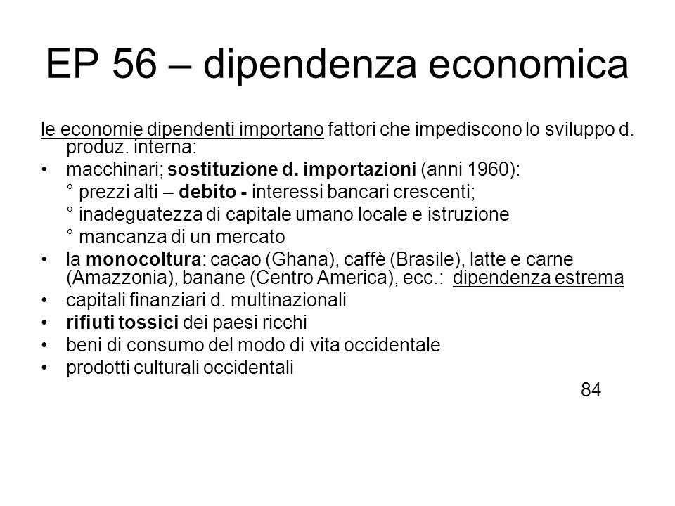 EP 56 – dipendenza economica
