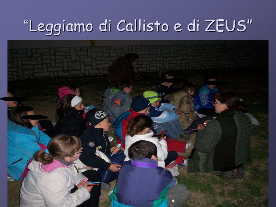 Leggiamo di Callisto e di ZEUS