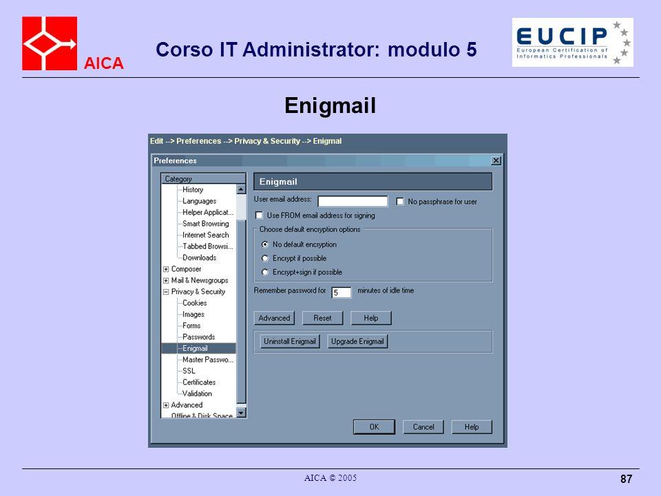 Enigmail AICA © 2005