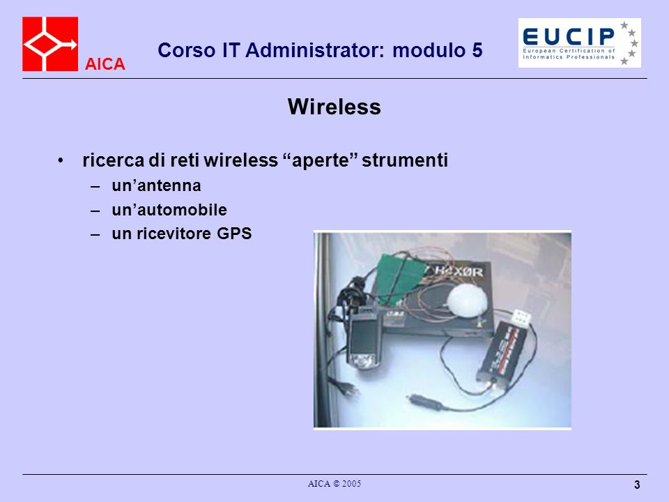 Wireless ricerca di reti wireless aperte strumenti un'antenna
