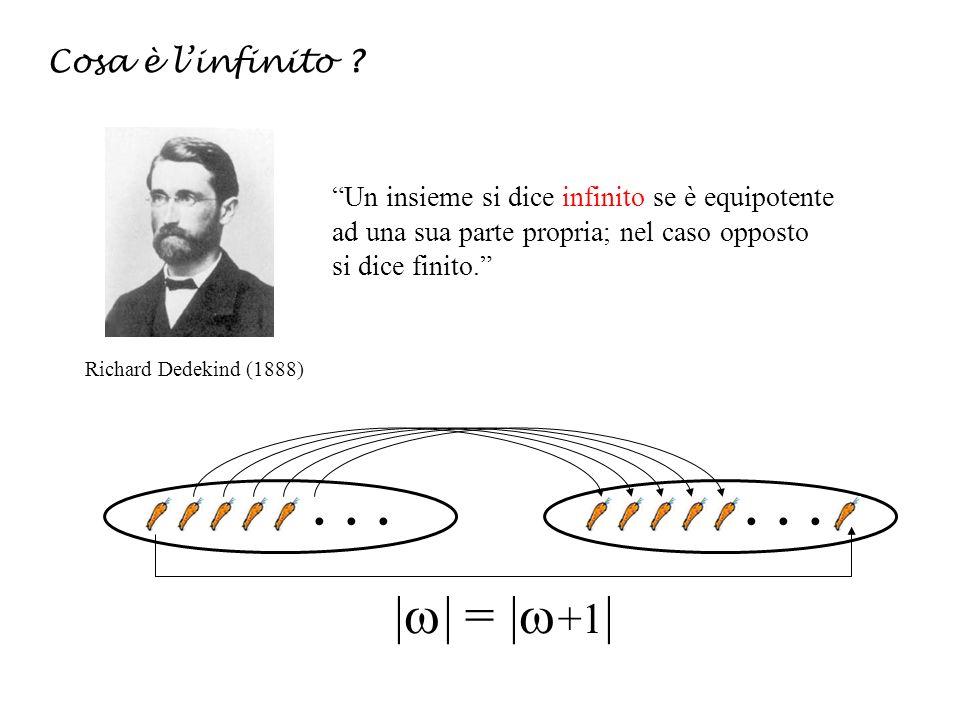 || = |+1| Cosa è l'infinito