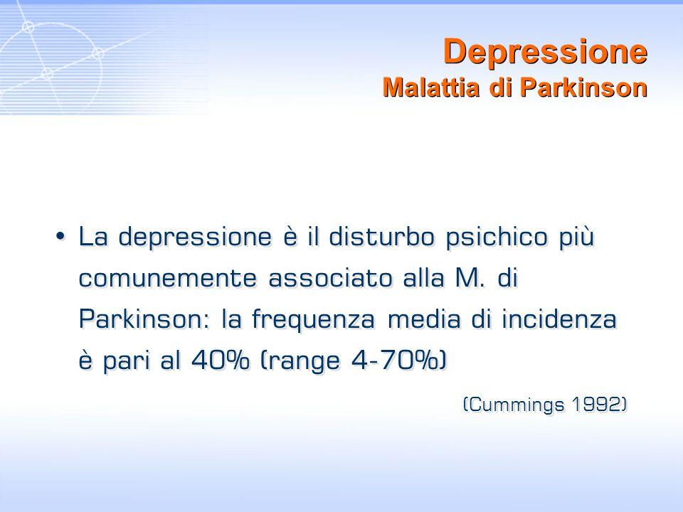 Depressione Malattia di Parkinson