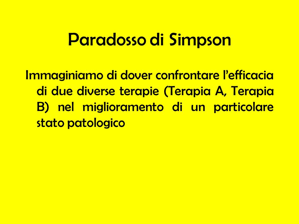 Paradosso di Simpson