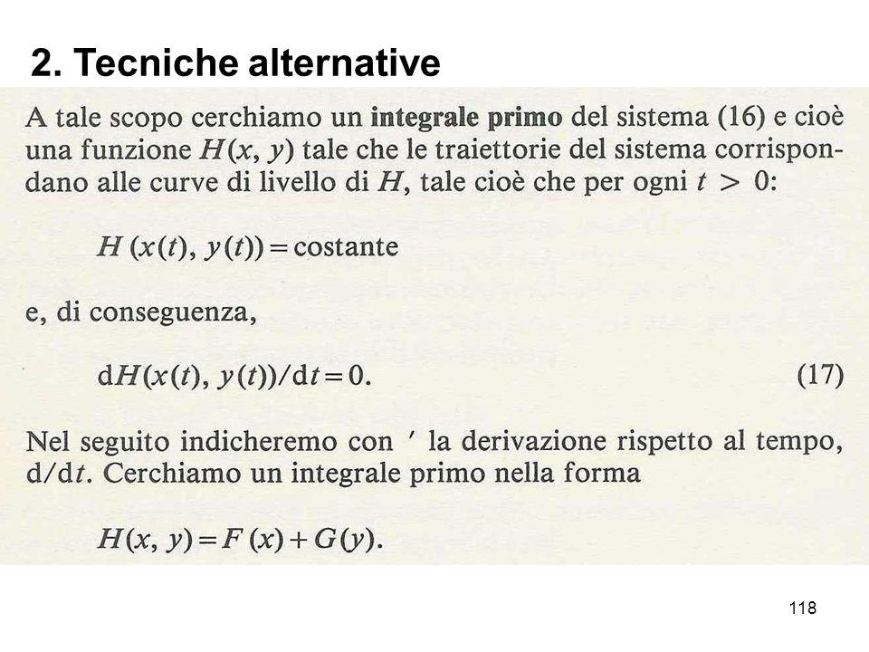 2. Tecniche alternative