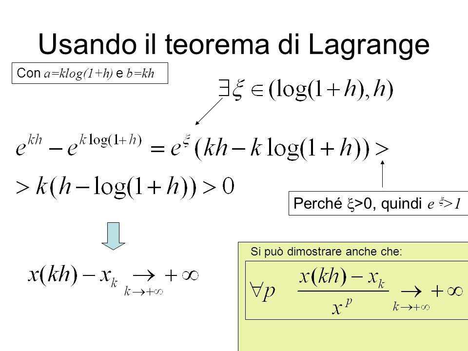 Usando il teorema di Lagrange