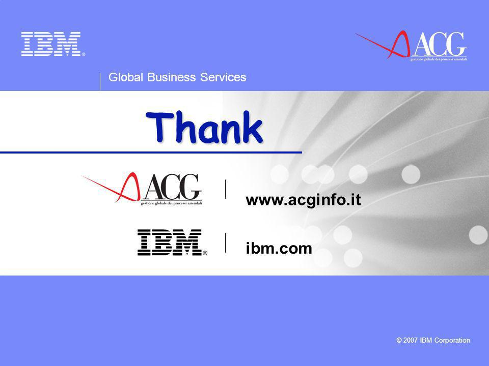 Thank you www.acginfo.it ibm.com