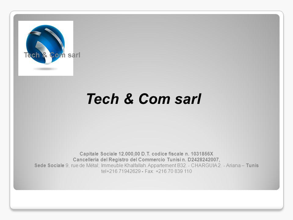 Tech & Com sarl Tech & Com sarl