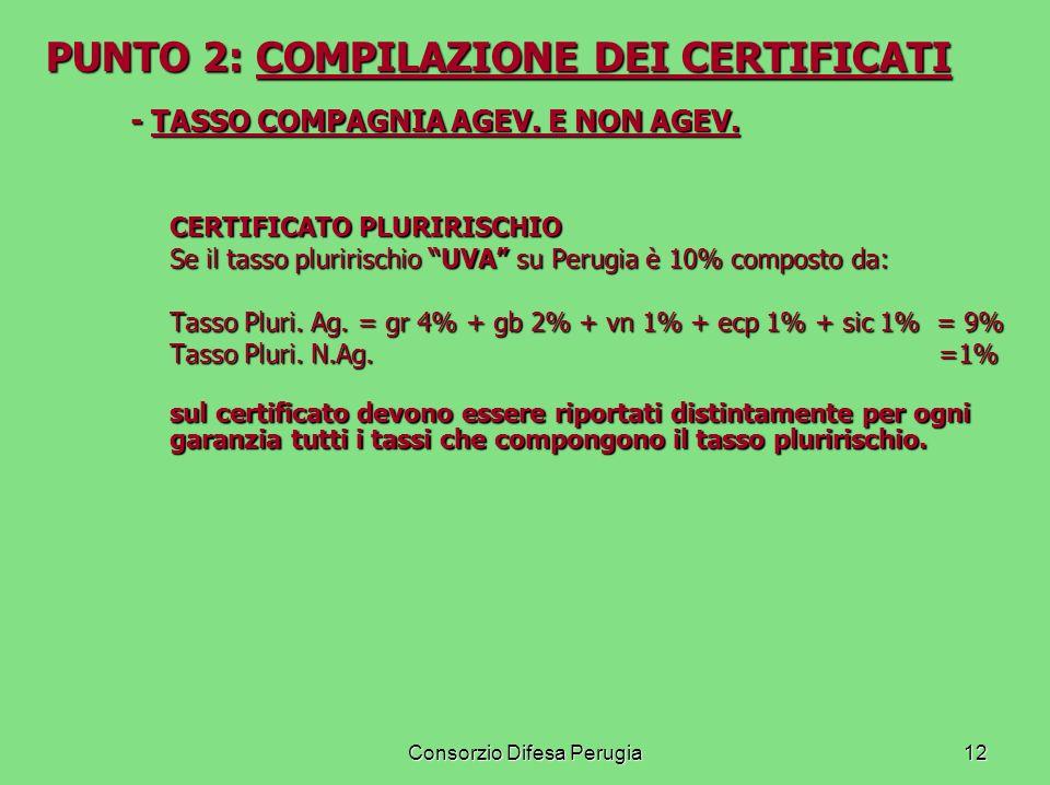 PUNTO 2: COMPILAZIONE DEI CERTIFICATI
