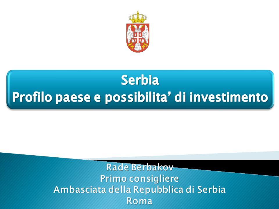 Profilo paese e possibilita' di investimento