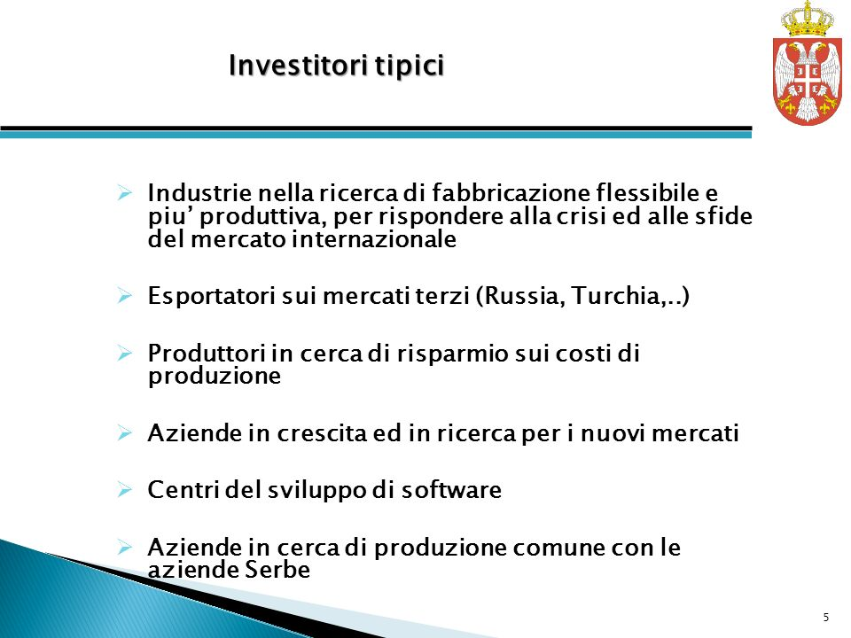 Investitori tipici