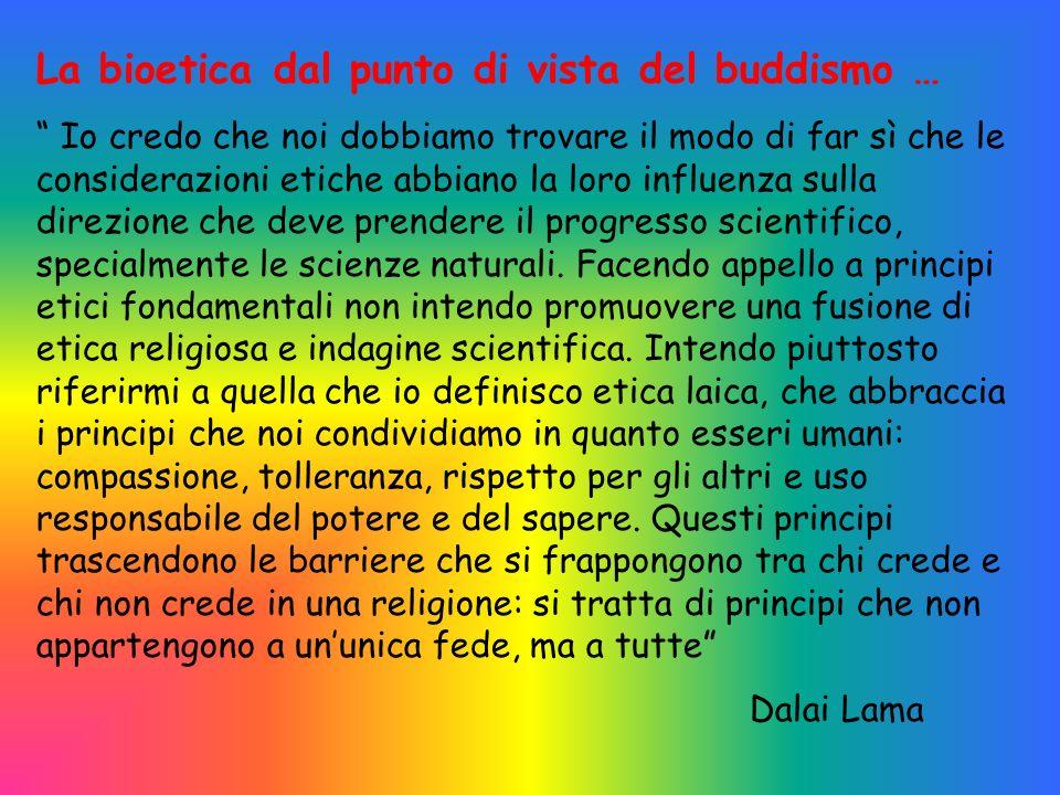 La bioetica dal punto di vista del buddismo …