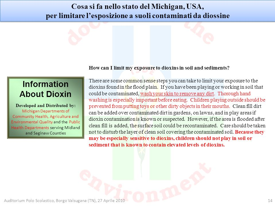Information About Dioxin