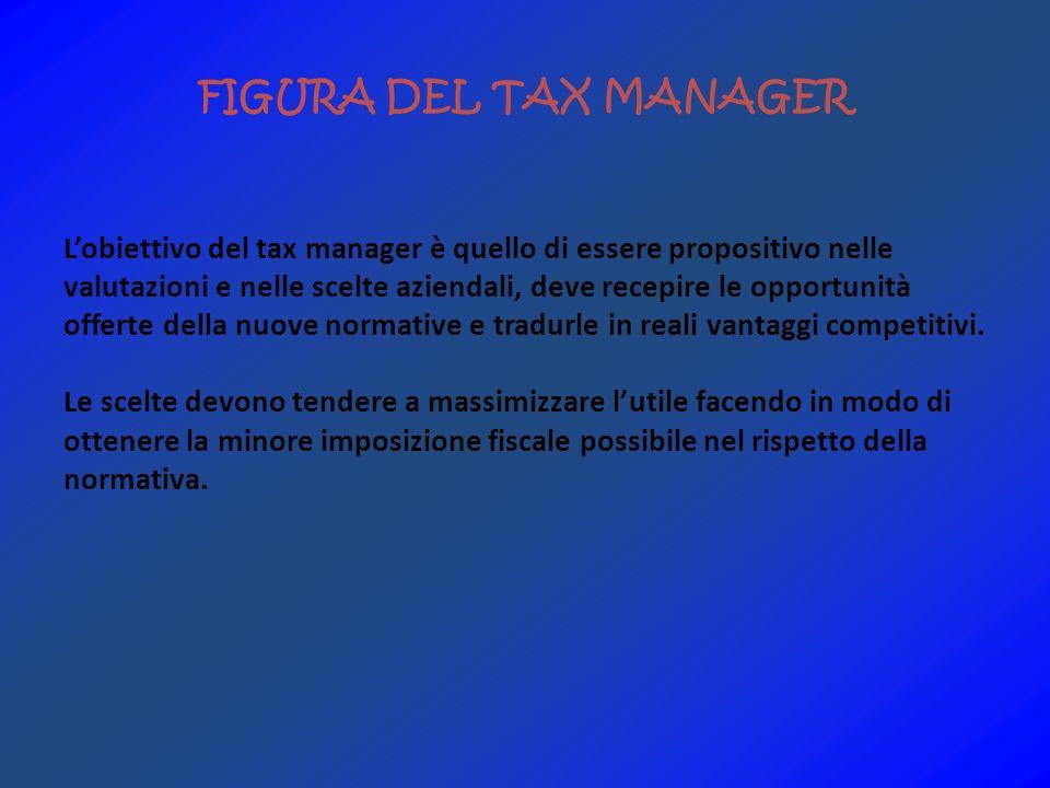 FIGURA DEL TAX MANAGER