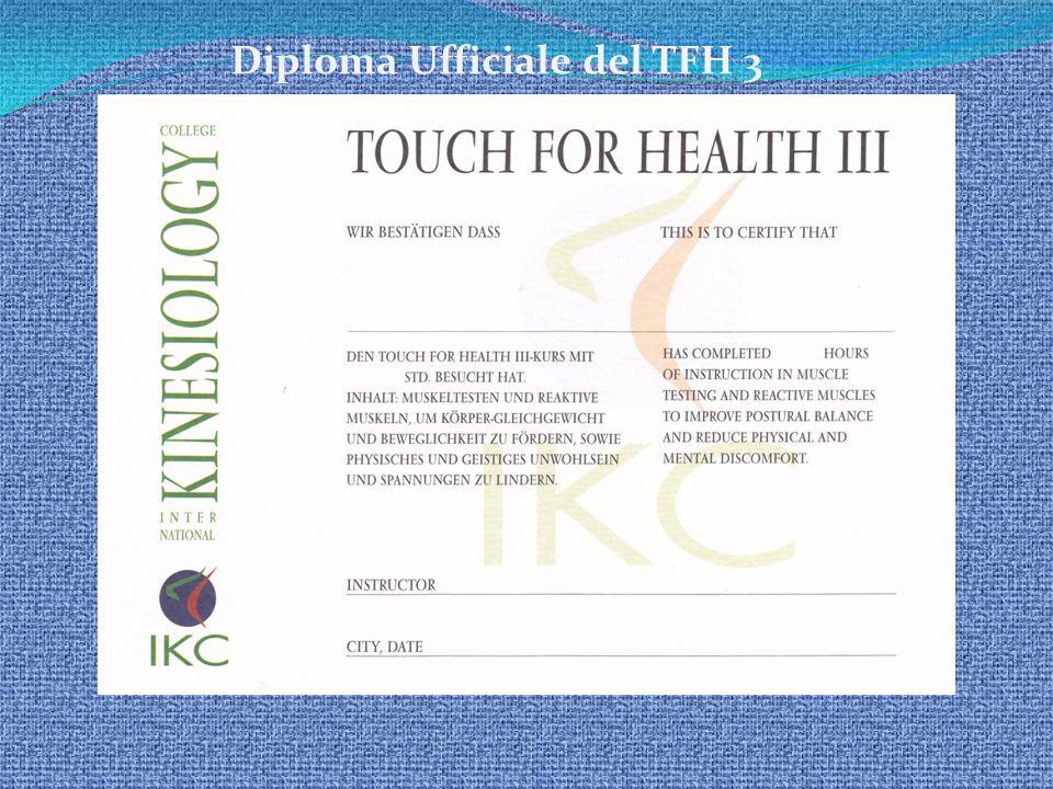 Diploma Ufficiale del TFH 3