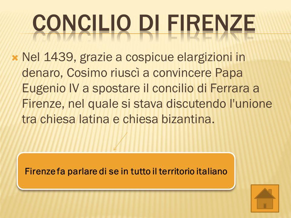 Firenze fa parlare di se in tutto il territorio italiano
