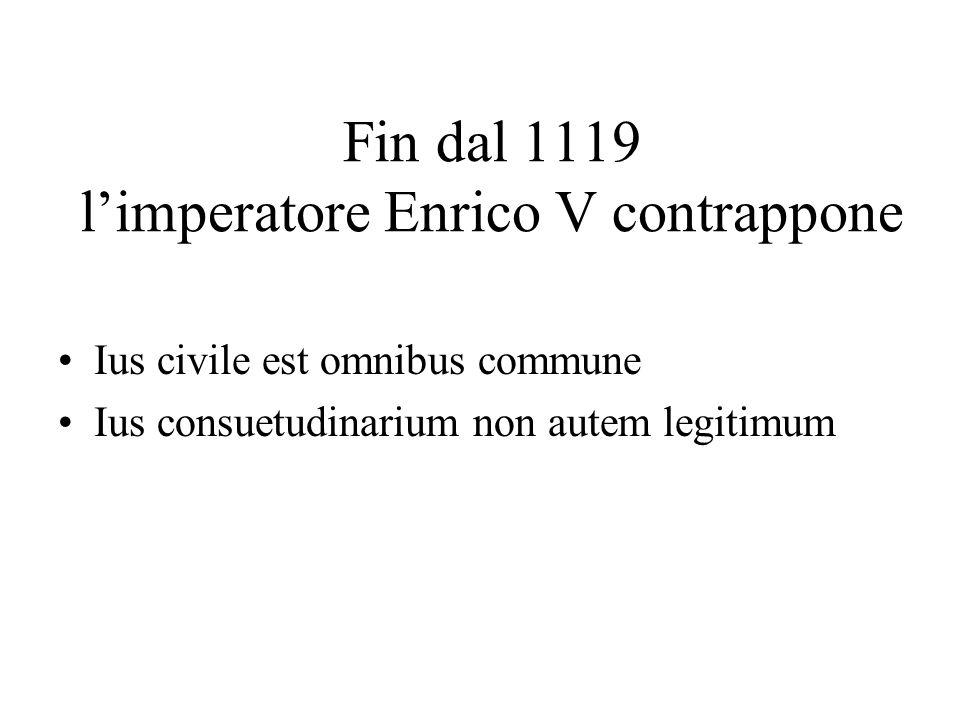 Fin dal 1119 l'imperatore Enrico V contrappone