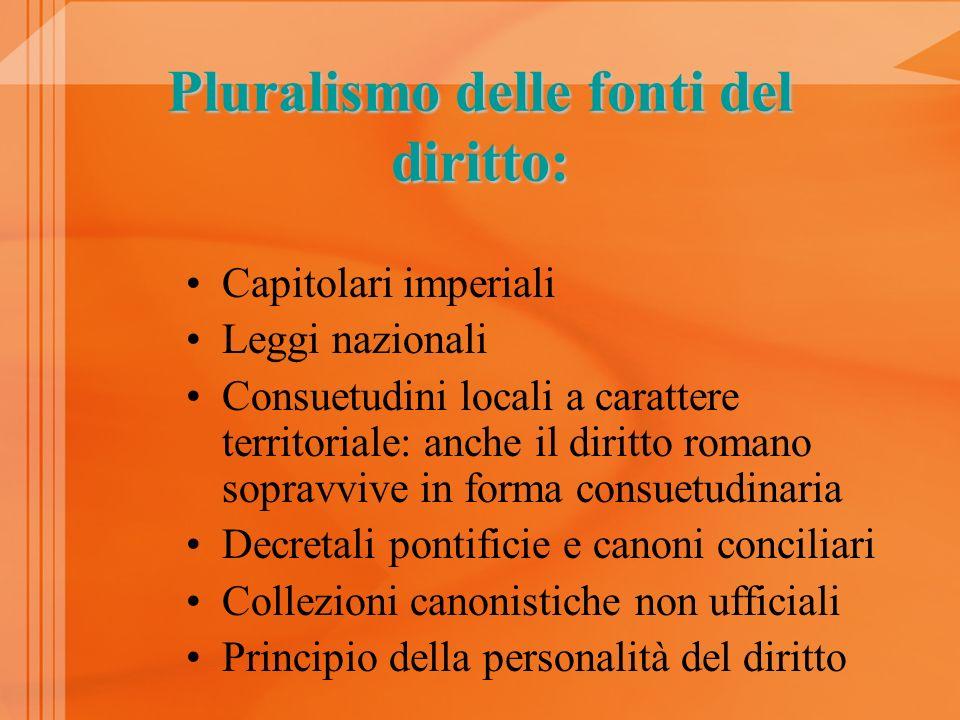 Pluralismo delle fonti del diritto: