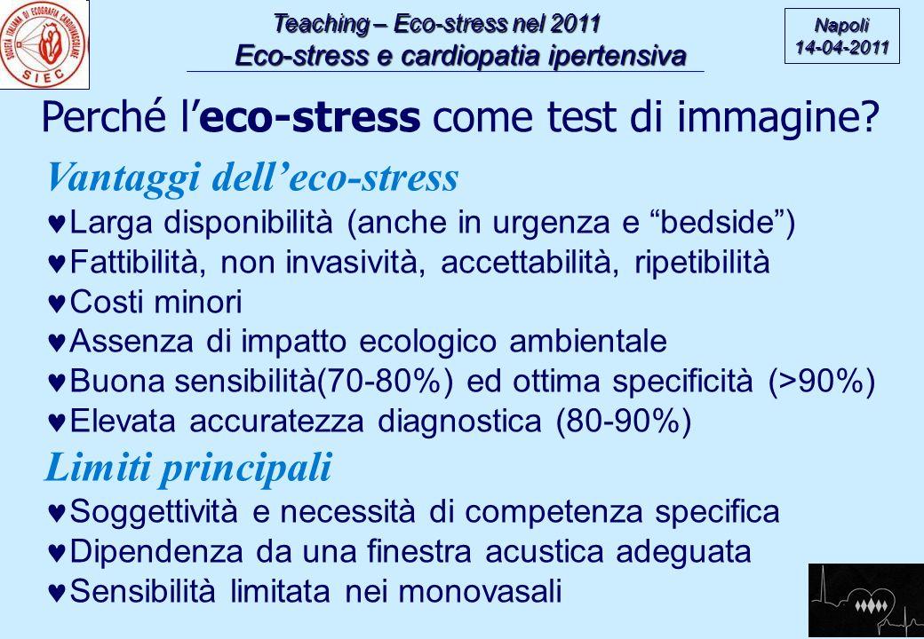 Perché l'eco-stress come test di immagine Vantaggi dell'eco-stress
