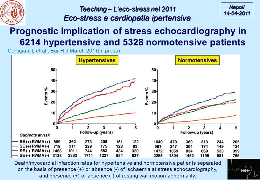 Teaching – L'eco-stress nel 2011
