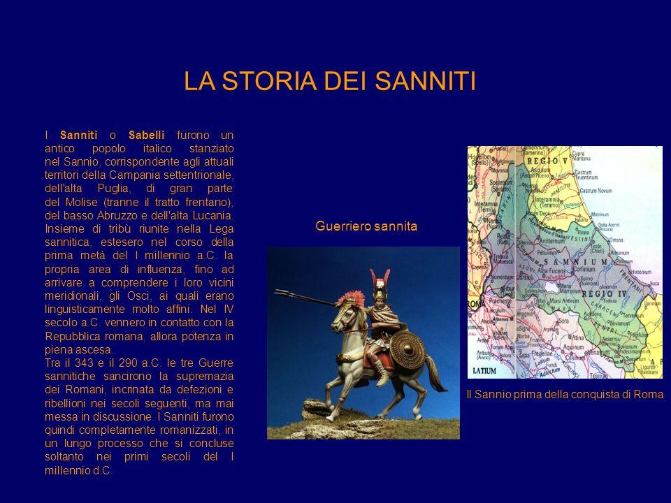 Il Sannio prima della conquista di Roma