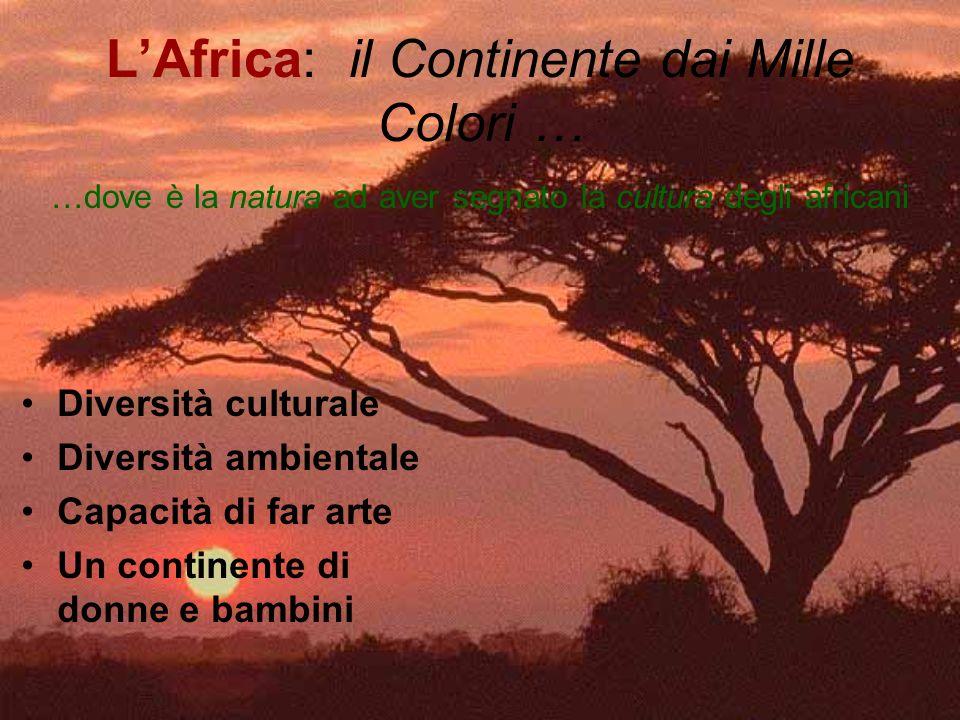 L'Africa: il Continente dai Mille Colori …