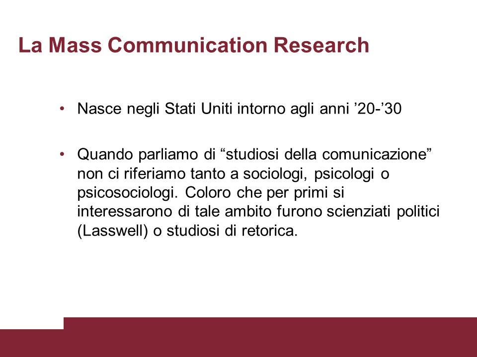 La Mass Communication Research