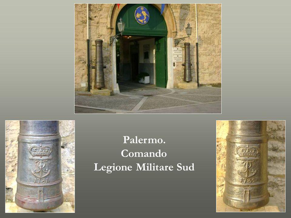Palermo. Comando Legione Militare Sud
