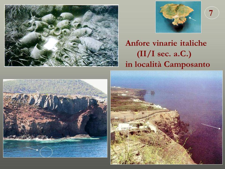 7 Anfore vinarie italiche (II/I sec. a.C.) in località Camposanto