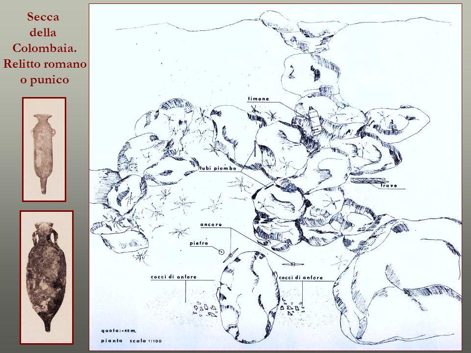 Secca della Colombaia. Relitto romano o punico