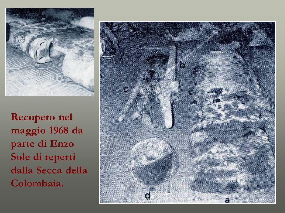 Recupero nel maggio 1968 da parte di Enzo