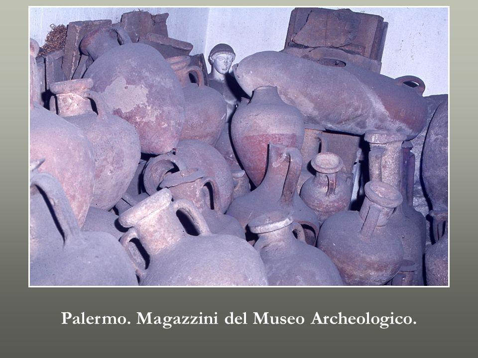 Palermo. Magazzini del Museo Archeologico.