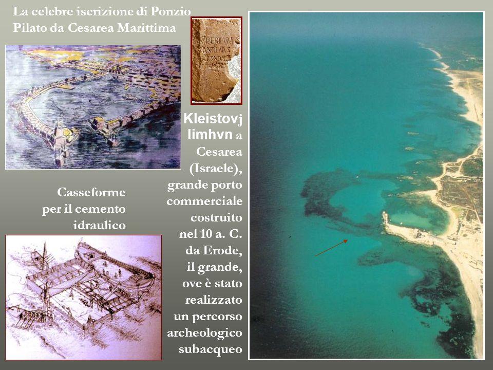 La celebre iscrizione di Ponzio Pilato da Cesarea Marittima