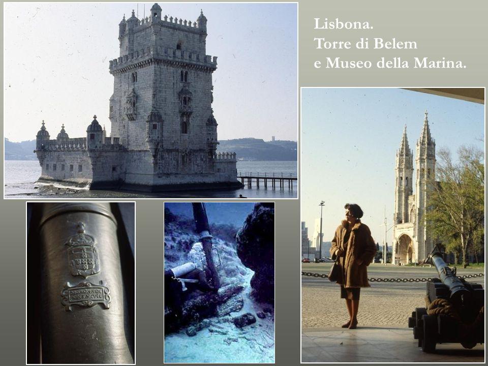 Lisbona. Torre di Belem e Museo della Marina.