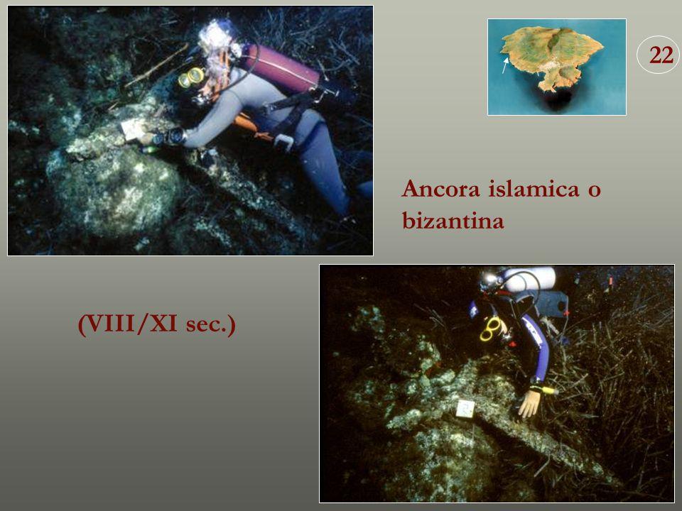 22 Ancora islamica o bizantina (VIII/XI sec.)