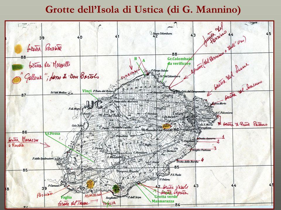 Grotte dell'Isola di Ustica (di G. Mannino)