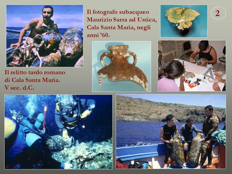 2 Il fotografo subacqueo Maurizio Sarra ad Ustica,