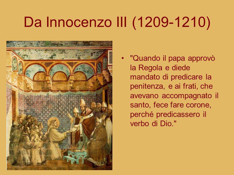 Da Innocenzo III (1209-1210)