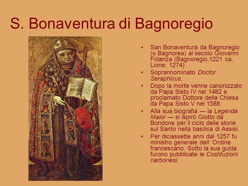 S. Bonaventura di Bagnoregio